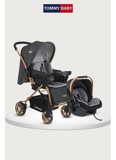 Tommy Baby Tb-980 Gold Travel Çift Yön (Seyahat) Sistem Bebek Arabası Puset Füme